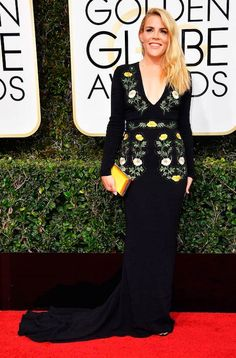 Busy Philipps at 2017 Golden Globes...