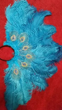 #Featherheaddress for a Halloween costume
