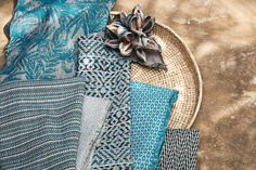 This playful collection brings invigorating color combinations and exciting textures to outdoor settings. Romo Fabrics, Interior Photography, Outdoor Settings, Color Combinations, Weaving, Neon, Interior Design, Create, Instagram