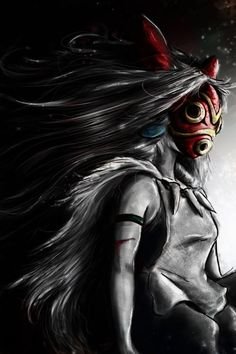 San, la princesa Mononoke