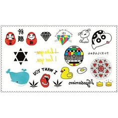 Fashion Temporary Tattoos Crayon Shin Chan Sexy Body Art Waterproof Tattoo Stickers 5PCS (Size: 2.36'' by 4.13'') * You can get more details by clicking on the image. (This is an affiliate link and I receive a commission for the sales) #Makeup
