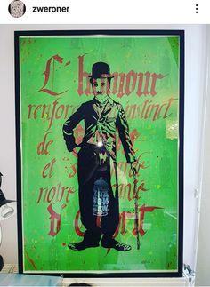 #art #zweroner #calligraphie #painting #charliechaplin Charlie Chaplin, Art Deco, Comic Books, Comics, Cover, Painting, Calligraphy, Painting Art, Paintings