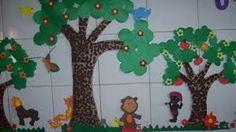 Resultado de imagem para decoração porta de sala de aula tema de folclore