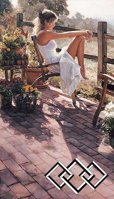 Where the Healing Begins - Steve Hanks - World-Wide-Art.com