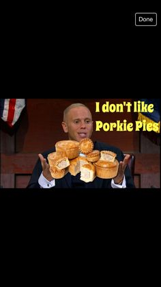 Judge Rinder on ITV does not like Porky Pies