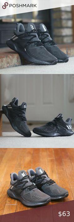 Black F33983 Kids Adidas Alphabounce Beyond 2 J Running Sneaker