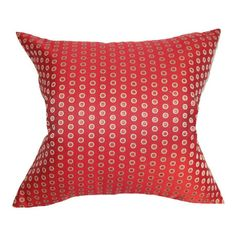 I pinned this Hot Pepper Pillow from the Shades of Style: Bold & Bright event at Joss and Main!