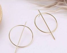 Kiss your etiquette by PUREEVERSTYLISH on Etsy Round Earrings, Hoop Earrings, Indian Jewelry, Unique Jewelry, Kiss You, Etiquette, Etsy Seller, Trending Outfits, Handmade Gifts