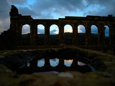 Volubilis is a partly excavated Roman city in Morocco situated near Meknes between Fes and Rabat.