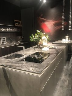 Premium Italian kitchens from Rossana at Salone del Mobile 2018