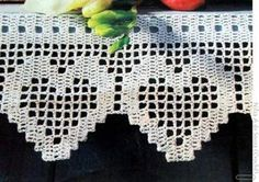 Luty Artes Crochet: Barrados lindos com gráficos..