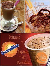 Como preparar milkshake ovomaltine...