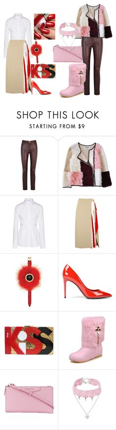 """Master"" by nae-notbae ❤ liked on Polyvore featuring Paige Denim, Florence Bridge, Helmut Lang, Diane Von Furstenberg, Fendi, Dolce&Gabbana, Givenchy and Design Lab"