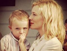 Cate Blanchett son's name came from a child sex offender.