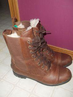 UGG combat boots