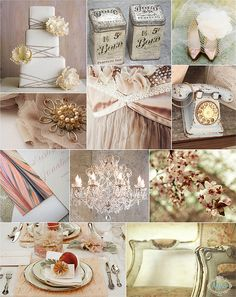 Antique Shabby Chic...love everything about this
