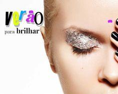 Glitter e gloss as grandes apostas da maquiagem para o verão 2016/2017