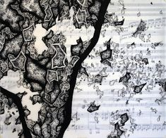 """Sheet Music Drawings & Quantum Mechanics,"" Jared Theis 