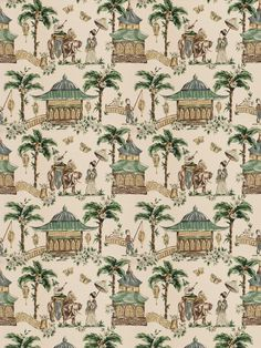 5858603 Mougin Cypress by Fabricut Fabric Charlotte Moss Cotton, Linen, Rayon China see fabric sample Horizontal: 27 inches and Vertical: 27 inches 54 inch min (See samples) - Fabric Carolina -