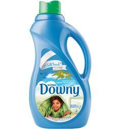 Ultra Downy® Mountain Spring® Liquid Fabric Softener.