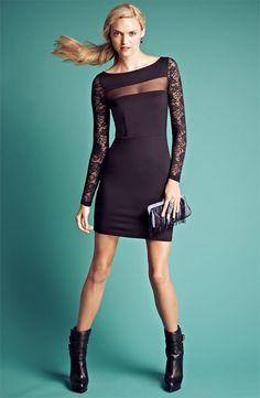 BB Dakota Dress & Accessories #Nordstrom #FallTrend