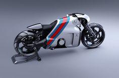 Lotus C-01 Motorcycle by Daniel Simon