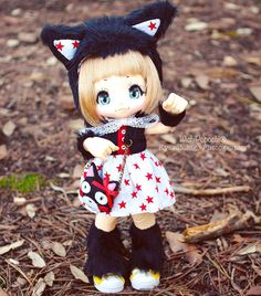 Happy Thursday ❤️ Set available on etsy! ✨ #wichipopochi #KIKIPOP #kiki #kinokojuice #handmade #etsy #animalhat #cathat #cat #MSD #bjd #azone #cute #stars #redstar #lovely #キキポップ#キキ#アゾン#キノコジュース #手作り#猫 #かわいい #ラブリー