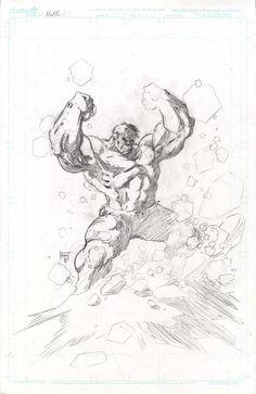 #Hulk #Fan #Art. (Hulk pencils) By:KenHunt. (THE * 5 * STÅR * ÅWARD * OF: * AW YEAH, IT'S MAJOR ÅWESOMENESS!!!™)[THANK Ü 4 PINNING!!!<·><]<©>ÅÅÅ+(OB4E)
