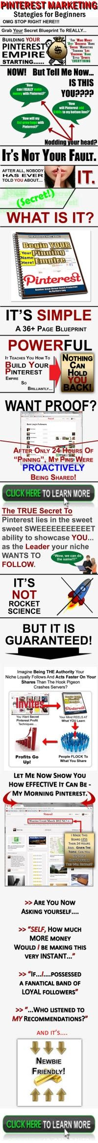 JUST RELEASED! [HOT] #Pinterest SEXY Affiliate Profits Energizer: Earn More Commissions Than Trading Tim Tebow! Pinterest Marketing Guide that Anybody can Learn How to Make the Most out of Pinterest. - survcast.com
