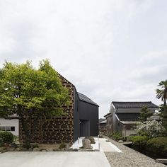 House M,  Kaga city, Ishikawa, Japan | timber louvers in front of glass | AE5 partners