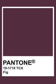 Pantone Fig Colour Schemes, Color Trends, Color Combos, Pantone Swatches, Color Swatches, Pantone Tcx, Pantone Colour Palettes, Pantone Color, Tapetes Art Deco