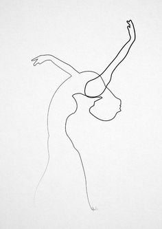 Drawn line art black and white - pin to your gallery. Explore what was found for the drawn line art black and white Dancer Tattoo, Dancer Drawing, Illustration Ligne, Line Illustration, Digital Illustration, Art Sketches, Art Drawings, Arte Indie, Dancer Silhouette