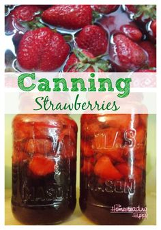 Canning Strawberries