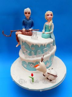 Frozen with Jack Frost - Cake by Nessie - The Cake Witch