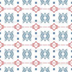Geometric pattern with Scandinavian ethnic motifs — Stock ...