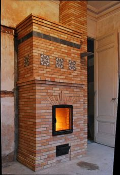 Heater by Marcus Flynn Cooking Stove, Stove Oven, Brick Masonry, Swedish Style, Wood Fired Oven, Rocket Stoves, Modern Materials, Portfolio, Homesteading