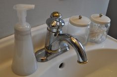 Homemade foaming hand-soap