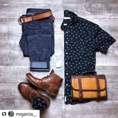 #Repost @mrgarcia__ (@get_repost)  With Spring in full bloom I knew this awesome flower print shirt from my friends @niftygenius is a must have! Head on over and check out their new full Spring line up!! Shirt: @niftygenius Dopp kit bag: @vetellibrand Jeans: @diamondsupplyco Belt: @brosleather Socks: @tommyhilfiger Boots: @sutrofootwear     #flatlay #outfit #grid #gqmen #l4l #f4f #wiwt #menswear #mensstyle #mensapparel #mensfashion #gqstylehunt #gqinsider #fashion #getdapper #guymusthave…