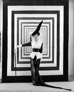 Audrey Hepburn's 'Eliza Doolittle'  character photographed by Cecil Beaton, 1963.