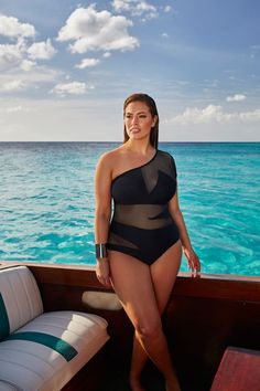 Hurry: Ashley Graham's Swimsuit Line Launches Today #refinery29 http://www.refinery29.com/2016/05/111643/ashley-graham-swimsuitsforall-collection#slide-9