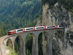 Travel Info:  14 of the most scenic rail routes in all of Europe + other lists (10 Truths about ... has some helpful tips for first time Eurail travelers)