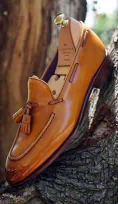 Carmina Men's Shoes. I love the color of these loafers, but Carmina's price structure is stupid.