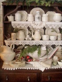 . . . Cabin & Cottage : The Old Welsh Dresser