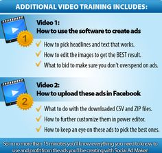 Social Ad Maker – Best software to Create Professional Looking Facebook Ads for Right Hand Side Ads or Newsfeed ads and Make Thousands Dollar