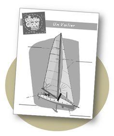 Le Vendée Globe - Documents simplifiés pour CE1
