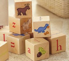 Toy Blocks | Pottery Barn Kids...scored them at a consignment sale!!!