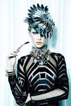 Jamie Nelson: Shoot with model Gabrielle Sullivan at Wilhelmina, future fashion, future luxury lifestyle, futuristic fashion