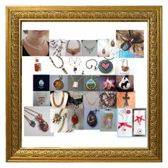 """""""Conscious Crafties - Handmade Necklaces"""" by sarah-robertshaw ❤ liked on Polyvore"""