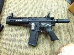 7.5 AR pistol …