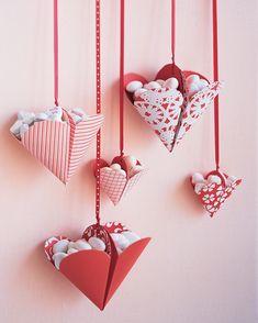 Valentine's Day Crafts: Bon-Bon Filled Hearts